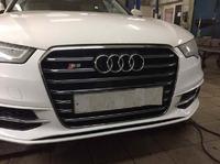Audi S6 C7 установка обвеса