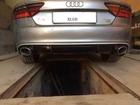 Audi A7 установка заднего диффузора RS7 под ключ