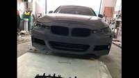 BMW F30 М пакет обвес установили под ключ