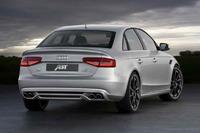 Audi A4 ABT диффузор заднего бампера с выхлопом 2012-2016