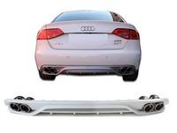 Audi A4 B8 ABT диффузор заднего бампера с выхлопом