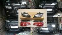 Audi Q7 рестайлинг оптики