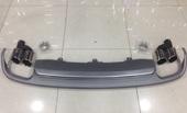 Audi A7 S7 диффузор заднего бампера с выхлопом