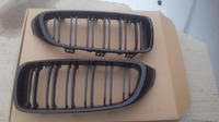 BMW F32 M4 решетки радиатора черные