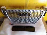 Решетка радиатора Audi A5 в стиле RS5 2008-2011 год Серебристая