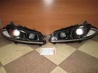 Jaguar XF фары ксенон рестайлинговые 2011-