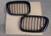 BMW X5 E53 Решетки радиатора (ноздри) карбон 1999-2003