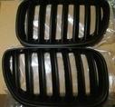 BMW X5 E53 Решетки радиатора (ноздри) матовые 2003-2006