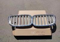 BMW X5 E53 Решетки радиатора (ноздри) silver 2003-2006