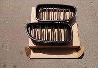 БМВ F10 Решетки радиатора (ноздри) матовые раздвоенные