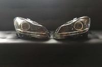 Mercedes W204 фары ксенон рестайлинг