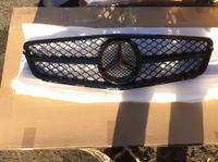 Mercedes C klass W204 решетка радиатора AMG 6.3 рестайлинг