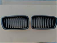 BMW E38 решетки радиатора матовые