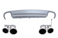 Audi A5 диффузор с насадками выхлопа 2008-2012