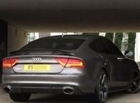 Audi A7 диффузор в стиле RS7