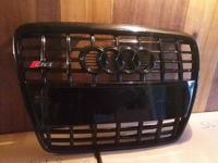 Audi S6 C6 black Решетка радиатора 2004-2010