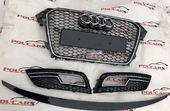 Audi A4 B8 обвес решетки бампера спойлер RS4 рест 12-16 г.в.
