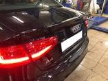 Audi A4 B8 рестайлинг установка спойлера