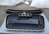 Audi A6 C7 решетки в бампер RS6 дорестайл