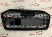 Audi A6 C8 Решетка радиатора RS6 полностью черная 2018+