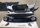 Audi A7 Бампер передний с диффузором RS7 рест