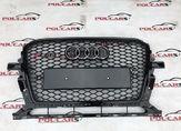 Audi Q5 Решетка радиатора  RSQ5 рестайлинг черная
