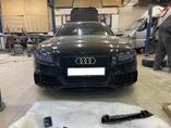Audi RS5 до рестайлинга установка бампера