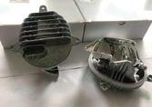 BMW F15 F16 доп освещение LED фары 63117381449 63117381450
