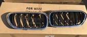 Bmw G30 решетка радиатора ( ноздри раздвоенные, хром)