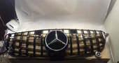 Mercedes GLE W166 Решетка радиатора GT черная