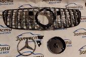 Mercedes GLS X166 Решетка радиатора GT хром