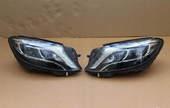 Mercedes S W222 2014-2017 фары FULL LED