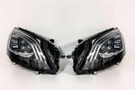 Mercedes S W222 2017-2020 Фары LED Multibeam