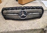 Mercedes W117 Решётка радиатора  Diamond 13-16