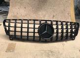 Mercedes W176 решетка радиатора GT черная 16-19