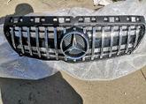 Mercedes W176 Решётка радиатора GT хром дорест