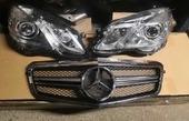 Mercedes W212 2009-2013 Фары+решетка радиатора AMG