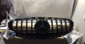 Mercedes W212 Решетка радиатора GT черная