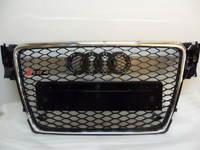 Решетка радиатора Audi A4 RS-line 2008-2011