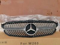 Mercedes W205 решетка радиатора AMG Diamond